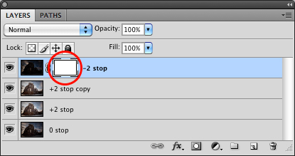 HDR Tutorial: HDR Photoshop layer mask